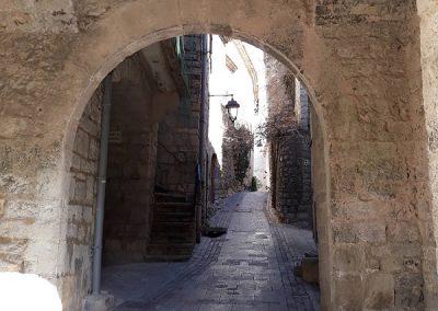 The smal village of Les Matelles