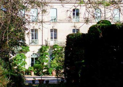 Château de Pierrefont built in 1863 in Lagamas (34)