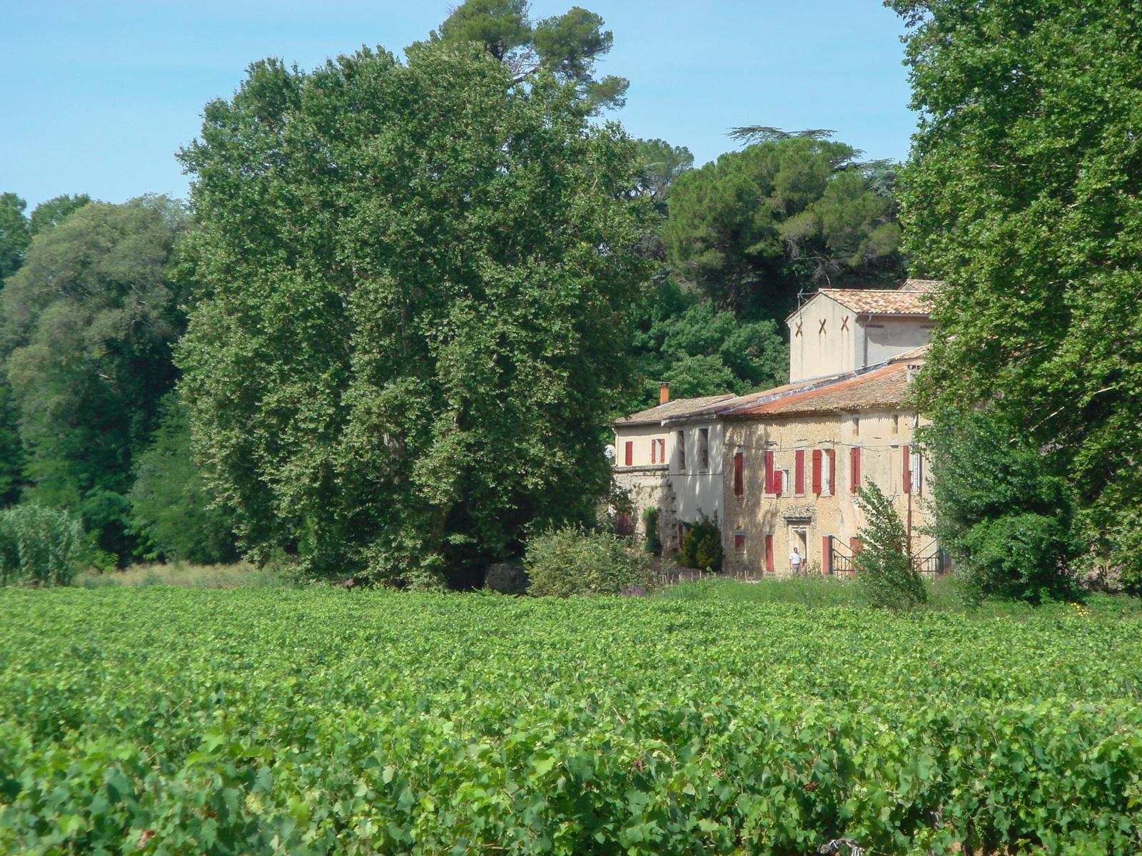 Pierrefont estate farm before restoration - Hérault